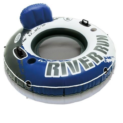 Intex River Run 1 Person Inflatable Floating Tube Raft for Lake/Pool/Ocean - image 1 of 4