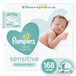Pampers Sensitive Wipes Pop-Top