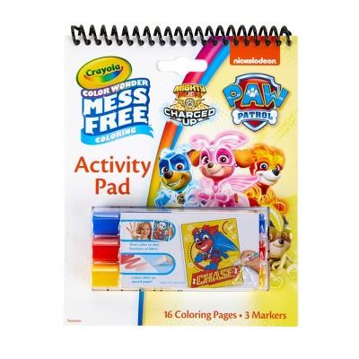 Crayola Color Wonder Mess Free Coloring Activity Pad - PAW Patrol
