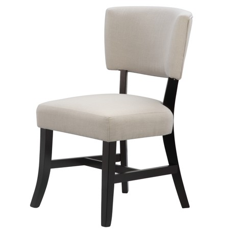 Reyna Upholstered Chair - Black - International Concepts - image 1 of 4
