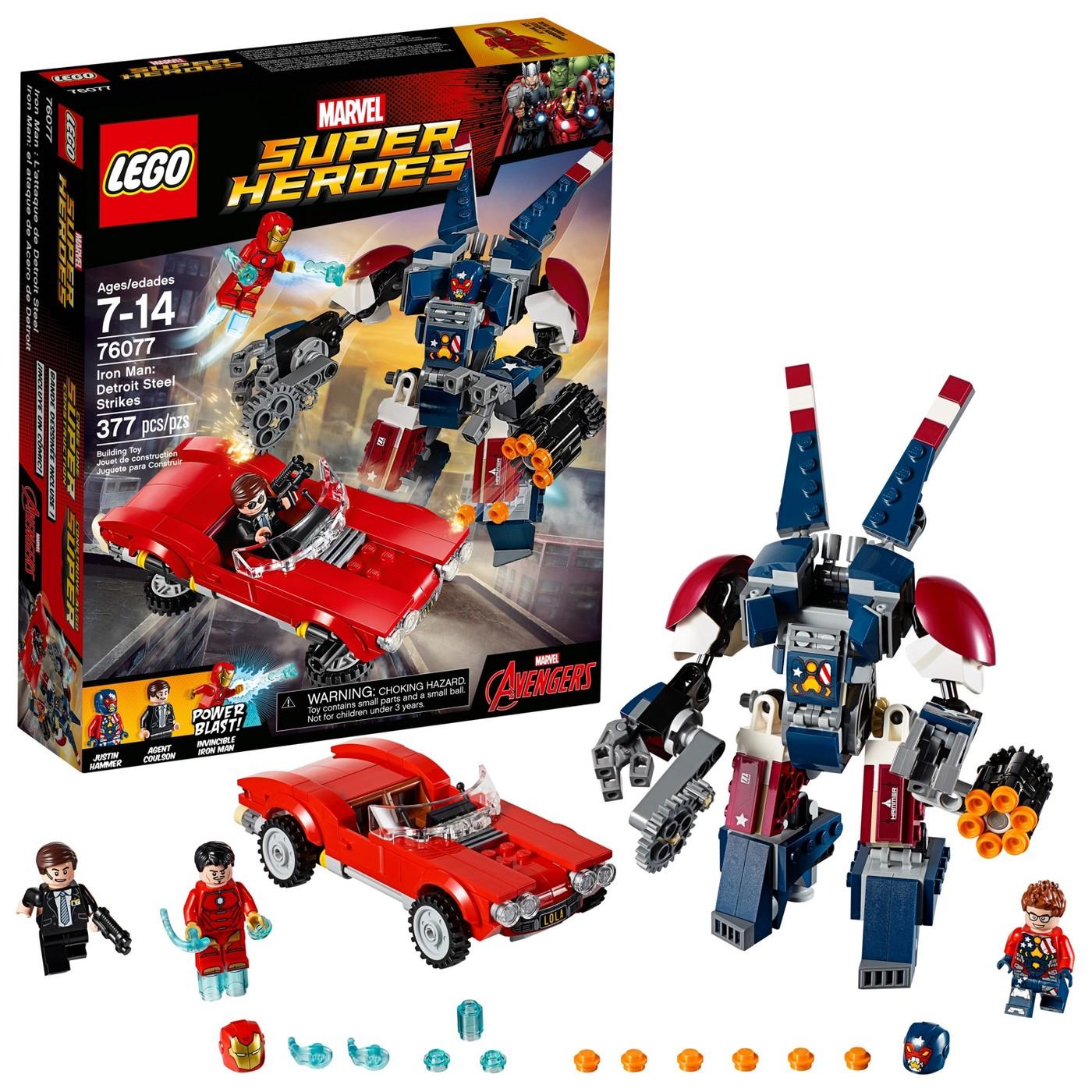 LEGO® Super Heroes Iron Man: Detroit Steel Strikes 76077 - image 1 of 12