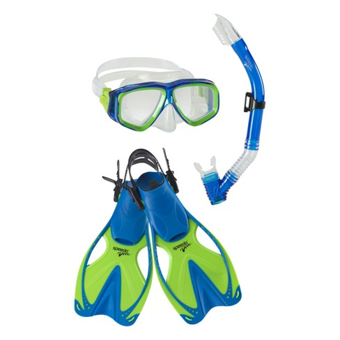 Snorkel Sets Speedo Blue (Large/X-Large) - image 1 of 3