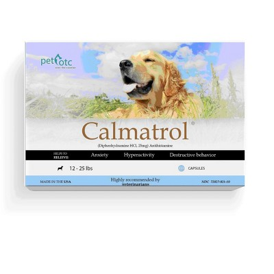 Calmatrol Calming Treatment and Stress Relief for Dogs for Anxiety, Hyperactivity, and Destructive Behavior