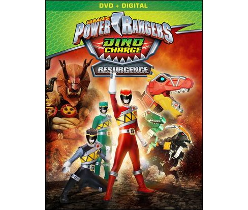 Power rangers dino charged:Resurgence (DVD) - image 1 of 1