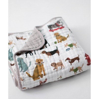 Little Unicorn Cotton Muslin Quilt - Woof