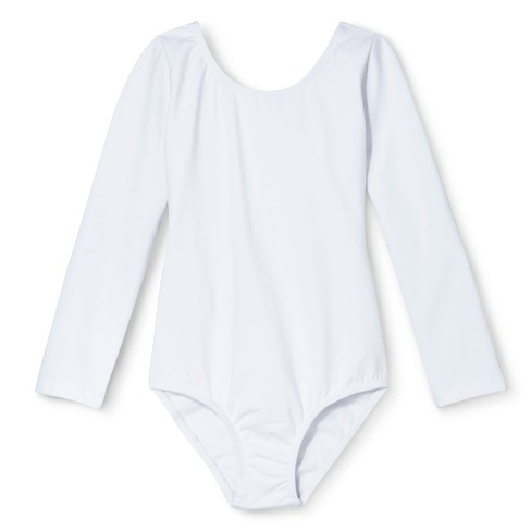 Danz N Motion&#174 by Danshuz&#174 Girls' Leotard -  White 10 - image 1 of 1
