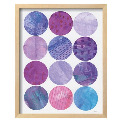 Kitchen Garden Dots II by Melissa Averinos Framed Art Print - Art.com - image 1 of 3