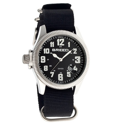 Men's Breed Angelo Watch with NATO Nylon Strap - image 1 of 3