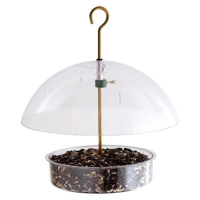 Droll Yankees Seed Saver Bird Feeder - Clear