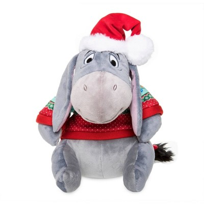 Disney Winnie the Pooh Eeyore Holiday Plush