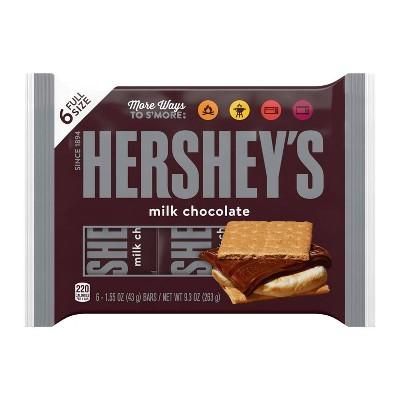 Hershey's Milk Chocolate Bar - 6ct