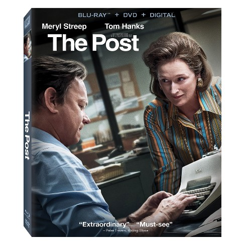 The Post (Blu-Ray + DVD + Digital) - image 1 of 1