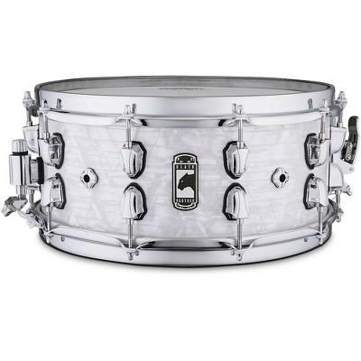 Mapex Black Panther  BPNML4600CWD Heritage Snare Drum 14 x 6 in. White Strata