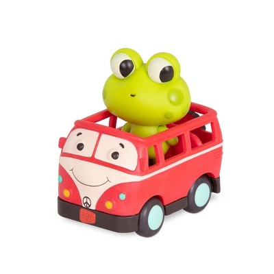 Land of B. Light-Up Toy Frog & Bus - Jax & Groovy Patootie
