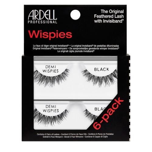 Ardell Eyelash Demi Wispies Black - 6pc