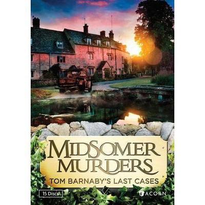 Midsomer Murders: Tom Barnaby's Last Cases (DVD)(2013)
