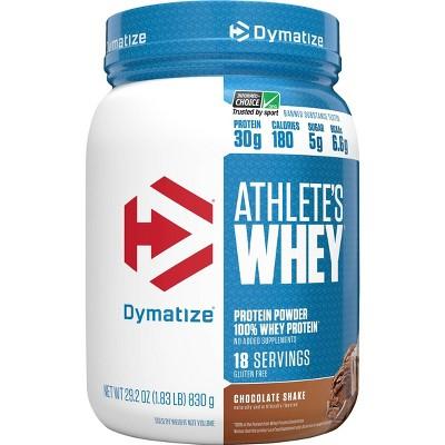 Dymatize Athlete's Whey - Chocolate Shake - 29.2oz