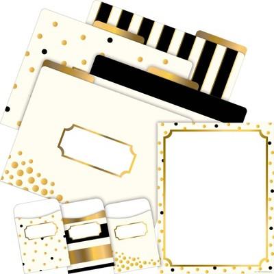 File Folders Organizer Set On-Trend 92 per Set Gold - Barker Creek