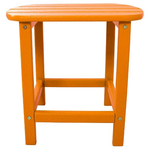 All-Weather Side Table - Tangerine - Hanover - image 1 of 1