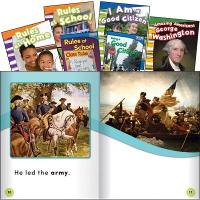 Shell Education Time For Kids Civics Book Set - Set of 6