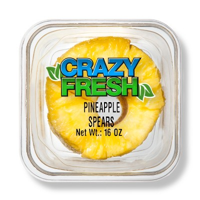 Pineapple Gold Spears - 16oz