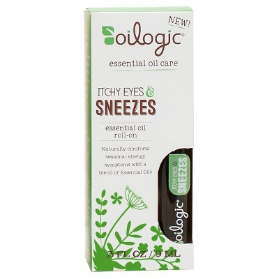 Oilogic Itchy Eyes & Sneezes Essential Oil Roll-On - 0.30oz