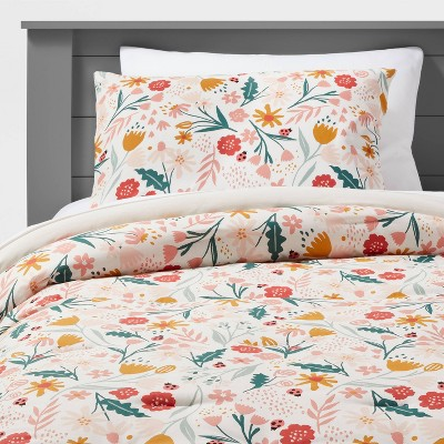 Floral Garden Cotton Comforter Set - Pillowfort™