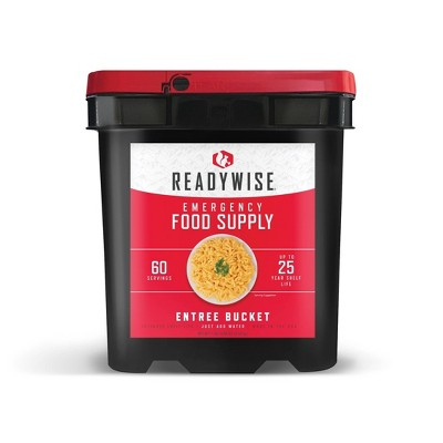 ReadyWise Entree Only Bucket - 60 Servings