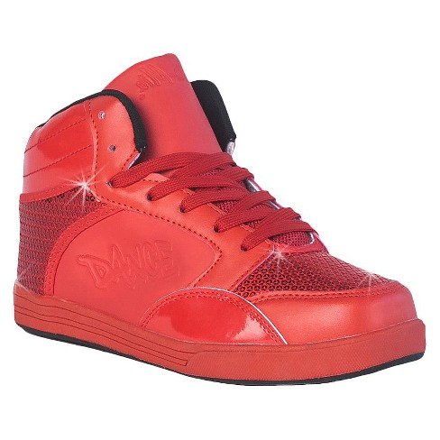 Women's Gia-Mia Dance Sneakers- Red - image 1 of 4