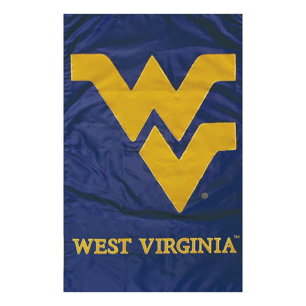 West Virginia Mountaineers Applique Garden Flag