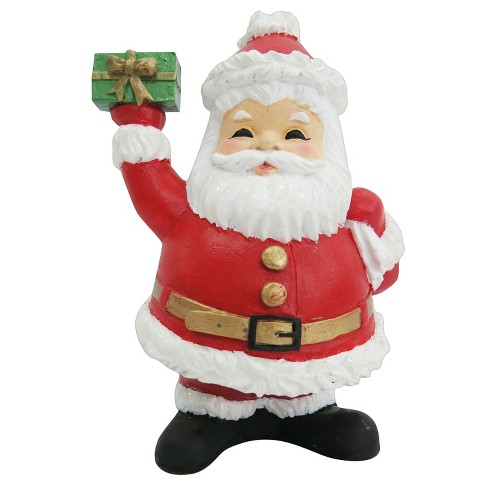 Image result for resin santa table christmas figurine
