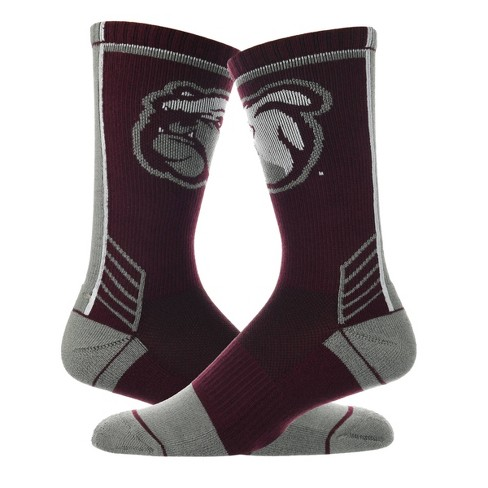 NCAA Mississippi State Bulldogs Women's Tailgate Crew Socks 9-11 - image 1 of 2