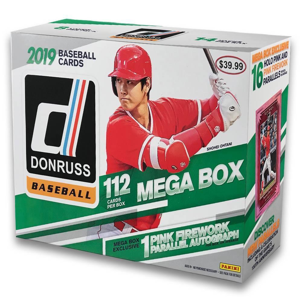 2019 Donruss Baseball MLB Trading Card Mega Box