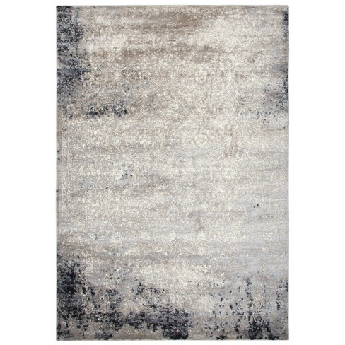 Encore Traditional Over Dye Polypropylene Area Rug - Rizzy Home - image 1 of 4