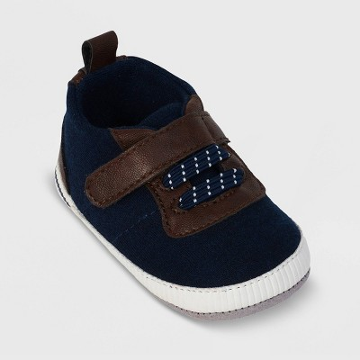 Ro+Me by Robeez Baby Boys' Casual Sneakers - Navy 12-18M