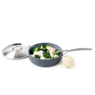 GreenPan Paris 4qt Saute Pan with Lid and Helper Handle