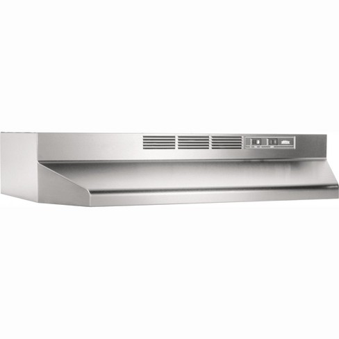 "Broan 4136 36"" Wide Steel Non Ducted Under Cabinet Range Hood - image 1 of 1"
