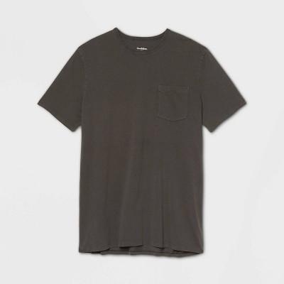Men's Big & Tall Regular Fit Pigment Dye Short Sleeve Crew Neck T-Shirt - Goodfellow & Co™