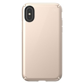 Speck Apple iPhone X/XS Presidio Case - Metallic Nude Gold