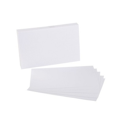 """Staples 5"""" x 8"""" Unruled Index Cards 500/Pack (51005) 233460"""