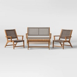 Lena 4pc Patio Conversation Set - Project 62™