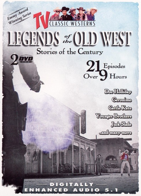 Legends of the old west vol 1 (DVD) - image 1 of 1