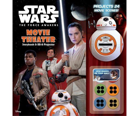Star Wars the Force Awakens : Movie Theater Storybook & BB-8 Projector (Hardcover) - image 1 of 1