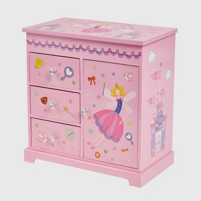 Mele & Co. Krista Girls' Musical Ballerina Jewelry Box-Pink