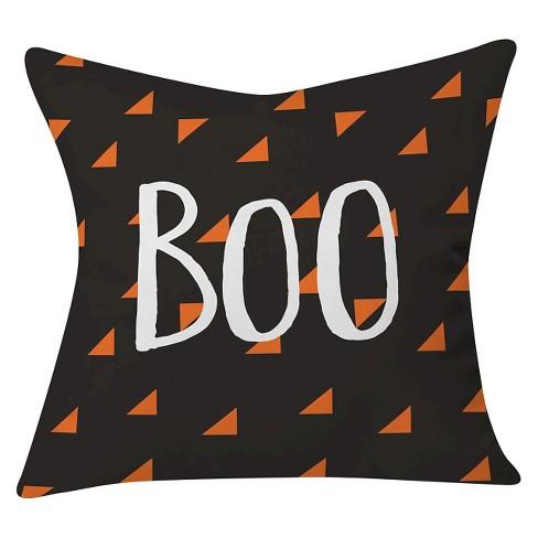 "20""x20"" Zoe Wodarz Boo That Throw Pillow Black - Deny Designs - image 1 of 3"