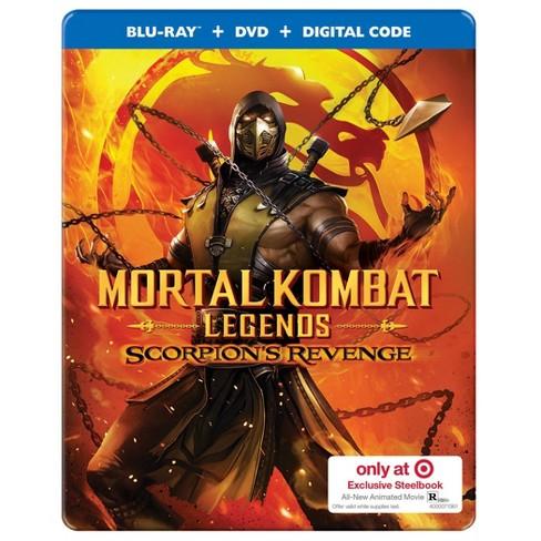 mortal kombat legends scorpions revenge movie