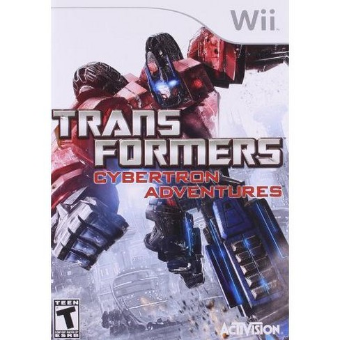 Transformers: Cybertron Adventure WII - image 1 of 1