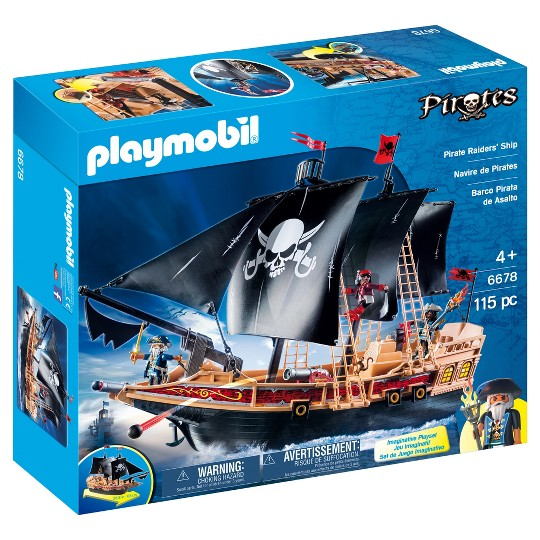 Playmobil Pirate Raiders Ship image number null