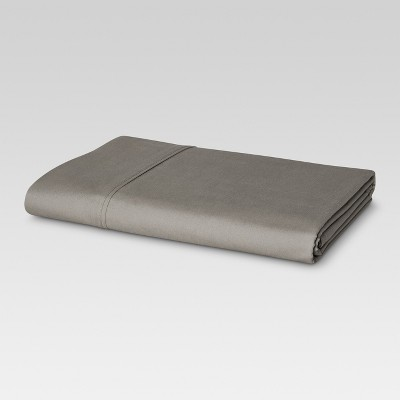 Ultra Soft Flat Sheet (Twin Extra Long)Gray 300 Thread Count - Threshold™