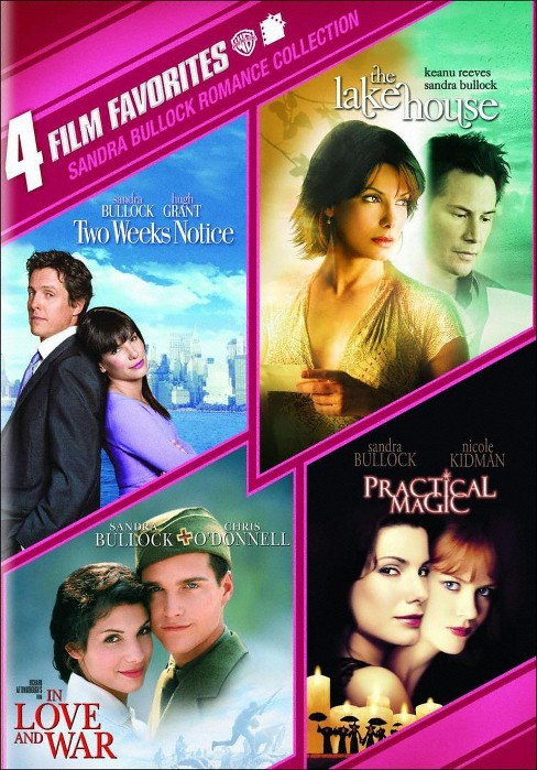 Sandra Bullock Romance Collection: 4 Film Favorites (2 Discs) (dvd_video) - image 1 of 1